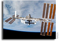 Space Station Invaded By Students From Outer Space Base