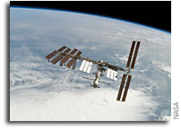 NASA ISS On-Orbit Status 8 December 2008