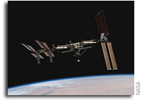 NASA ISS On-Orbit Status 1 June 2008
