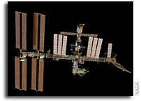 NASA ISS  On-Orbit Status 12 December 2008