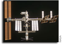 NASA ISS On-Orbit  Status 11 November 2008