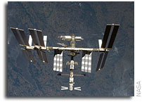 NASA ISS On-Orbit Status 20 November 2008
