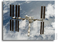 NASA ISS On-Orbit Status 1 December 2008