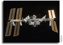NASA ISS On-Orbit Status 21 December 2008