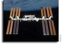 Space Station Crews Hold News Conference From Orbit