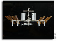 NASA ISS On-Orbit Status 8 December 2009
