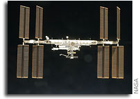 NASA ISS On-Orbit Status 1 December 2009