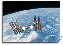 Expedition 30/31 Space Station Crew Conducts Briefing, Interviews