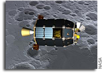 Spacecraft Propulsion System for Lunar Atmosphere Dust Environment Explorer - LADEE