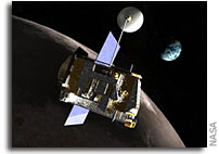 NASA'S Lunar Spacecraft Completes Exploration Mission Phase