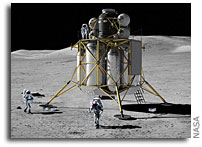 NASA Discusses Lunar Exploration Concepts and Plans