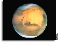 Hubble High Resolution Images of Mars