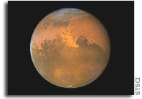 NASA Study Reveals Less Water in Mars' Clouds