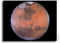 White House Briefed On Potential For Mars Life