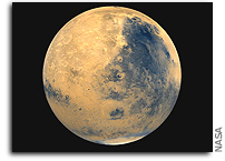 NASA Scientists Say Mars Has Liquid Iron Core