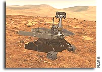 Space Operations Award Going to Mars Rover Team
