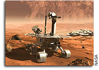 NASA's Mars Rover Spirit Faces Circuitous Route
