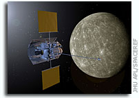 MESSENGER Is Ten Days from Mercury Orbit Insertion