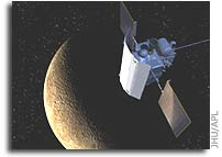 NASA MESSENGER Mission News: Priming Instruments to Map Mercury's Crust