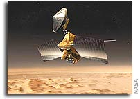 Mars Reconnaissance Orbiter Relays Second-Day Information From NASA Mars Lander