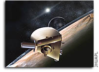SETI Radio Telescopes Track New Horizons