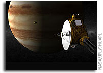 Pluto-Bound New Horizons Spacecraft Gets a Boost from Jupiter