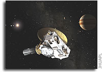 New Horizons Jupiter Encounter Begins
