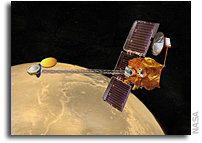 NASA Mars Odyssey Orbiter Puts Itself Into Safe Standby