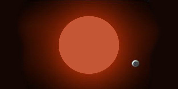 A Super-Earth Planet Candidate Orbiting at the Snow-line of