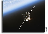 Progress 38 Docking With Space Station Delayed Due to Loss of Telemetry
