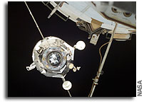 Progress Cargo Ship Docks with ISS
