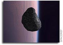 Boulder-sized Asteroid Will Burn Up In Eath's Atmosphere Tonight