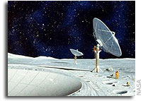 Moon-based radiotelescope planned