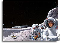 NASA Seeks Proposals for Constellation Moon Suit