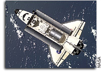Space Water Recycling Experiment  Aboard Space Shuttle
