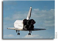 NASA'S Space Shuttle Discovery Set to Land Monday