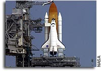NASA Performs Space Shuttle Tanking Test for Return to Flight