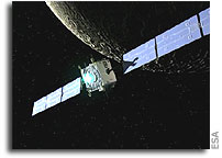 Europe reaches the Moon - SMART-1 entering lunar orbit