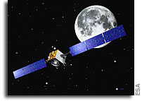 SMART-1 completes its first orbit around the Moon