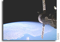 NASA Space Station On-Orbit Status 3 October 2005