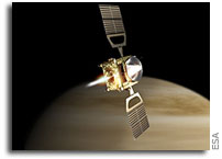 Venus Express enters orbit around the Hothouse Planet