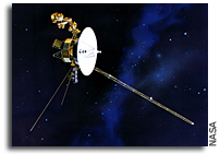 Computer Simulation Predicts Voyager 2 Will Reach Major Milestone in Space in Late 2007 or Early 2008
