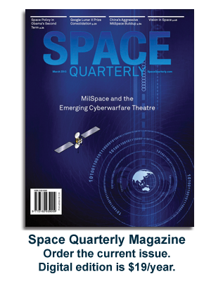 Subscribe to Space Quarterly magazine.