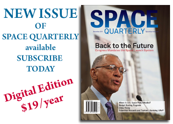 Subscripbe to Space Quarterly magazine